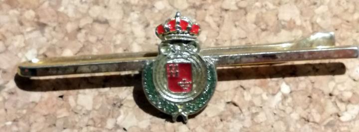 Pasacorbatas escudo murcia. 6 cm.w