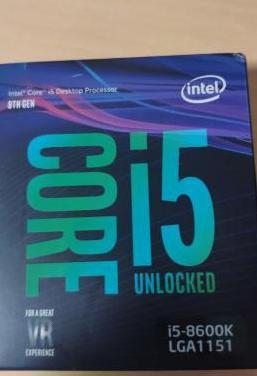 Procesador i5-8600k