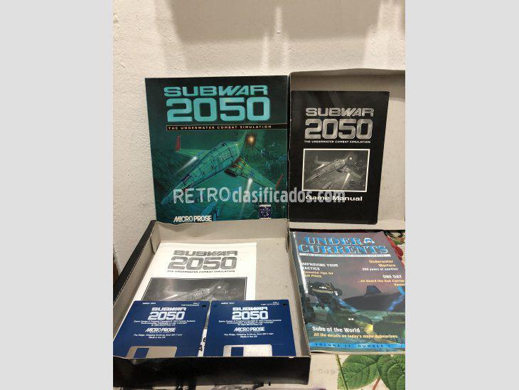 Se vende Juego Commodore Amiga SubWar 2050 nuevo