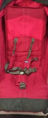 Silla paseo chicco roja mod liteway y accesorios