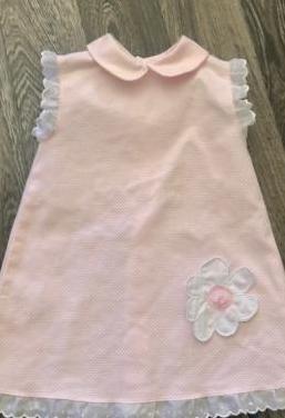 Vestido bebé rosa t 6 meses