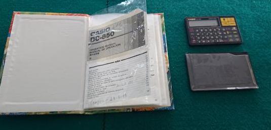 Calculadora casio vintage
