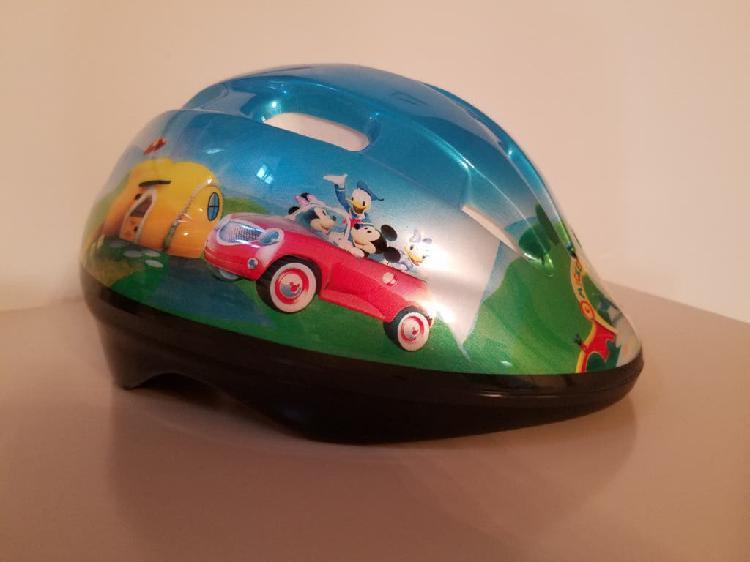 Casco infantil mickey mouse