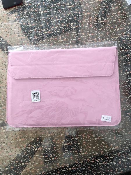 Funda portatil rosa