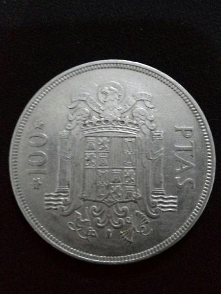 Moneda cien pesetas 1975