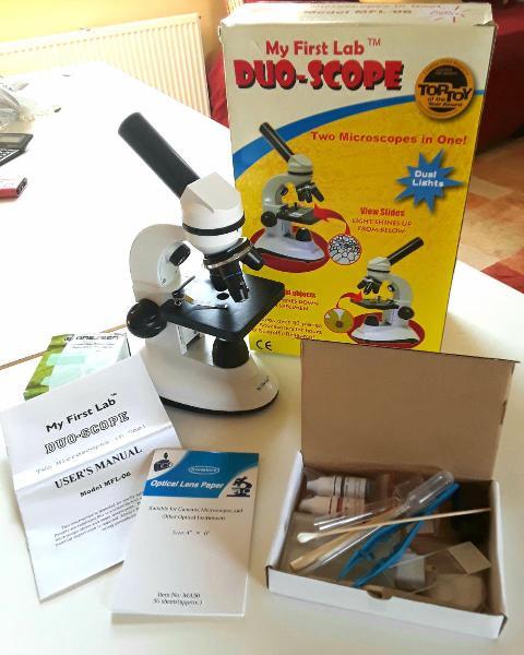 Microscopio avanzado para estudiantes seminuevo