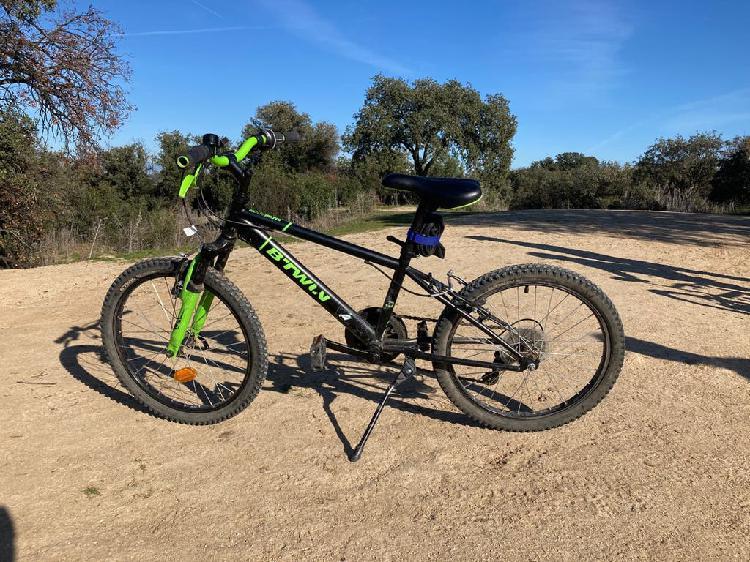 "Mountain bike niño 6-8 años 20"" decathlon"