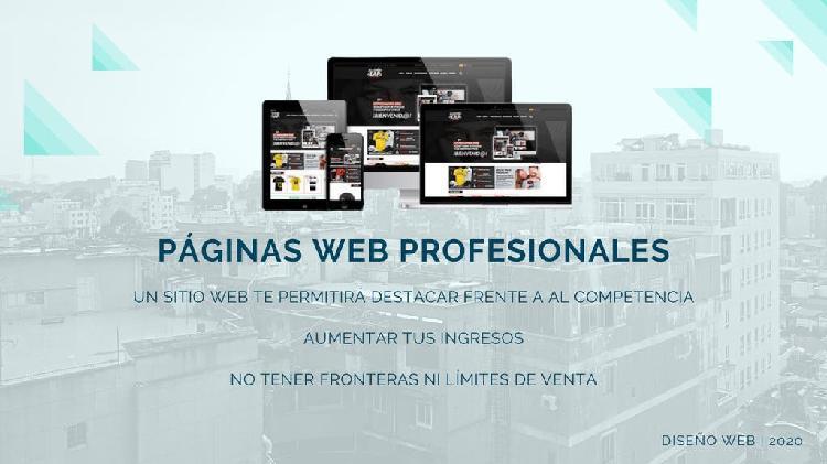 Oferta página web profesional