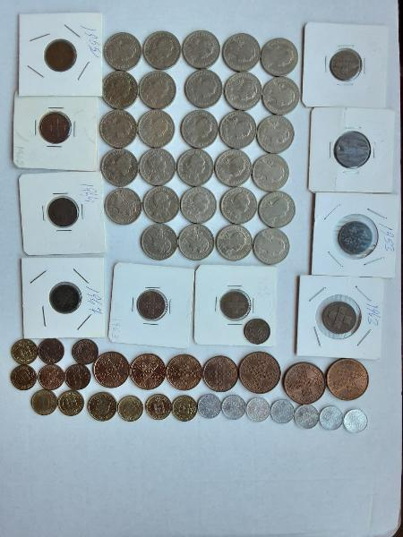 Portugal lote 56 monedas diferentes primera epoca
