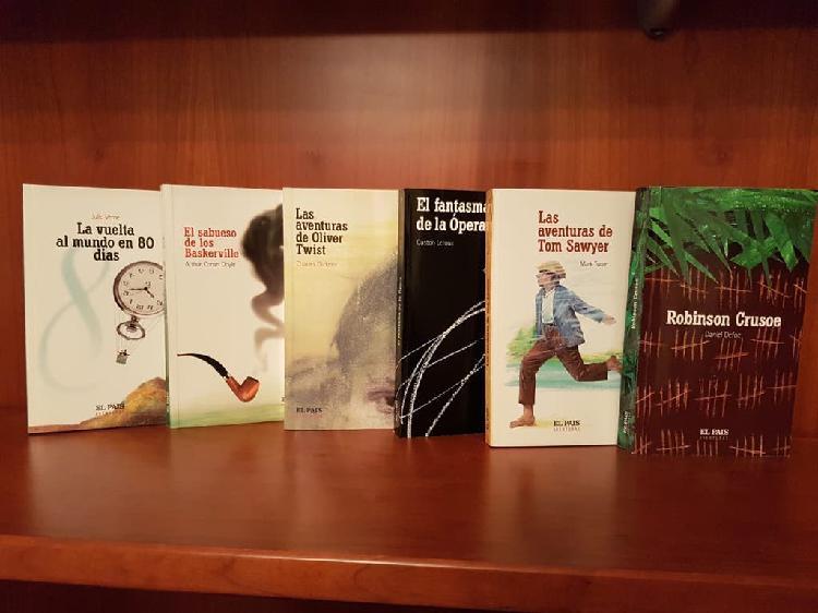 Pack 6 libros clásicos