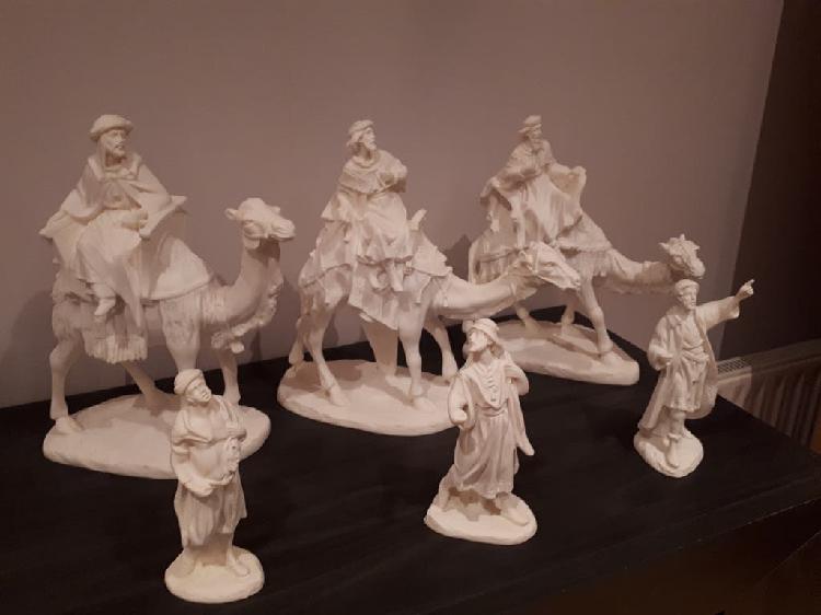Reyes magos con camellos