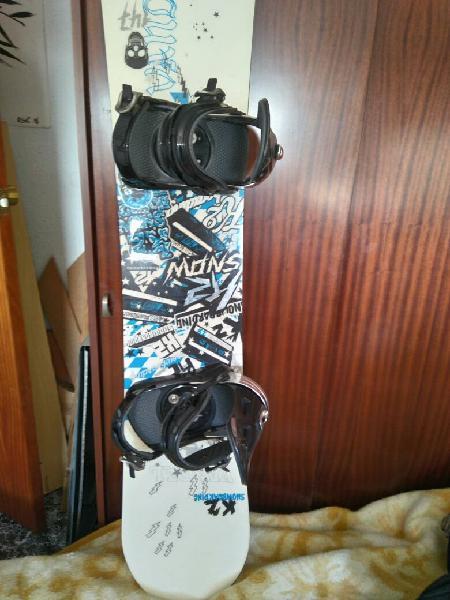 Tabla snowboard k2 flat camber