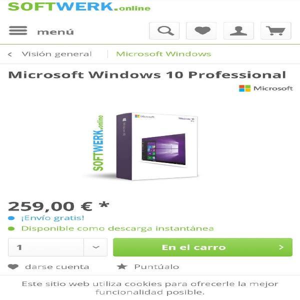 Windows 10 profesional original