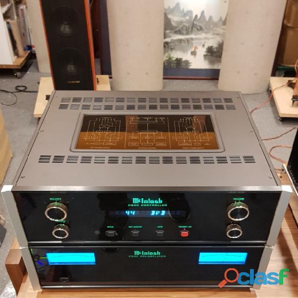 AMP.McIntosh C 500T dedicado, de alto rendimiento.