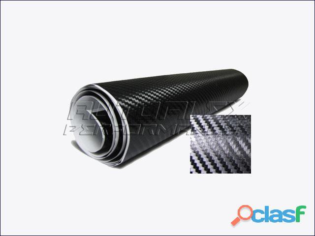 Lamina Carbono Negro 3D