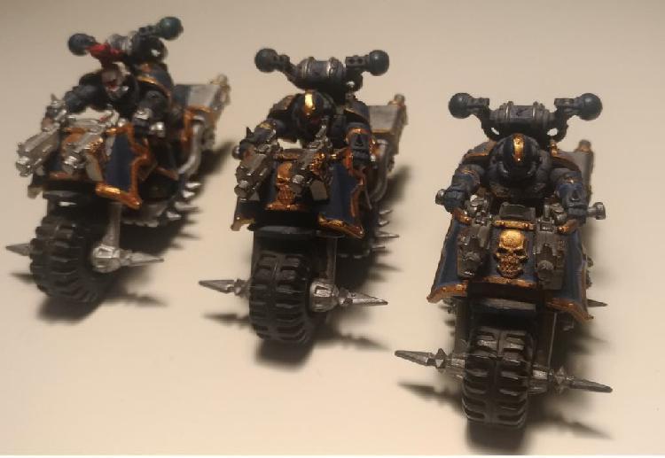 X3 motos chaos space marines