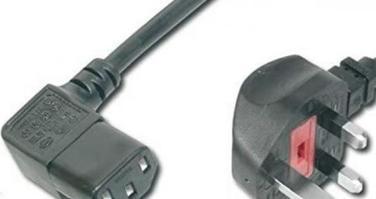 Cable alimentación enchufe ingles