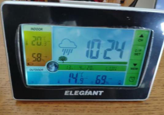 Estación meteorológica con sensor