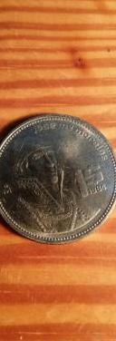 Estados unidos mexicanos. un peso 1984
