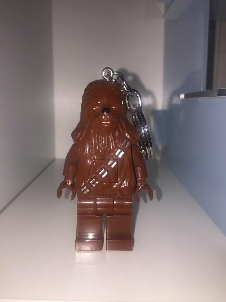 Chewbacca lego llavero linterna