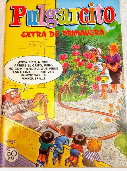 Comic extra de primavera editorial bruguera 1981.