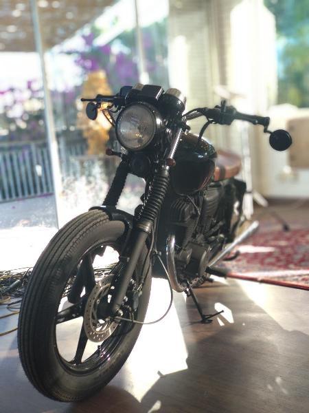 Café racer homologada honda cb250