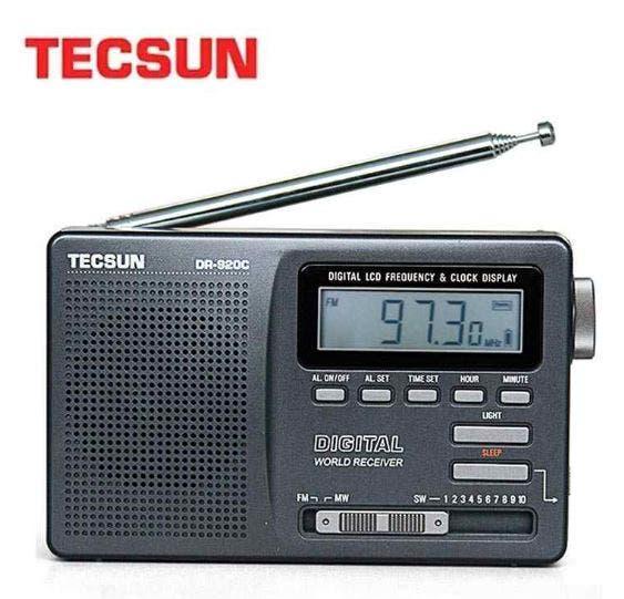 Radio despertador fm - mw - sw tecsun dr-920