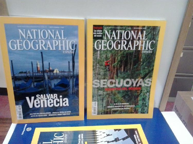 Revistas del national geographic