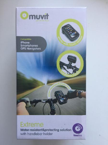 Soporte bici impermeable. contorno interior