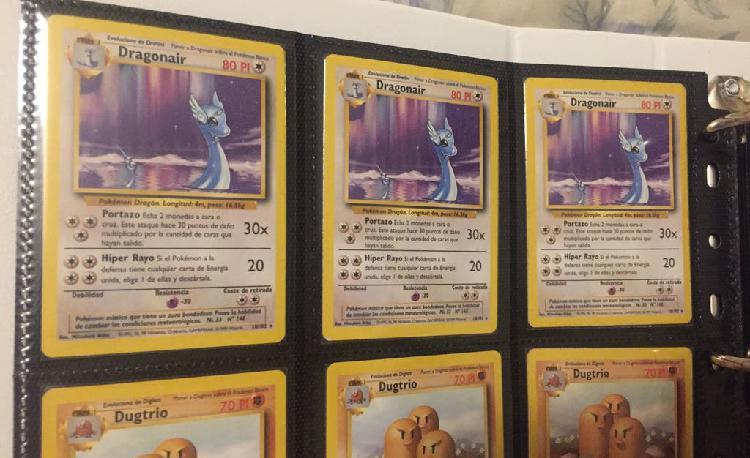 Carta pokemon base set dragonair nº 18