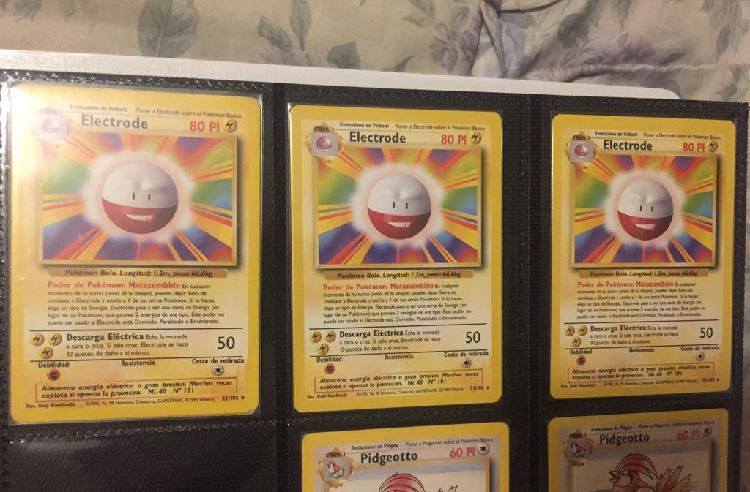 Carta pokemon base set electrode nº 21