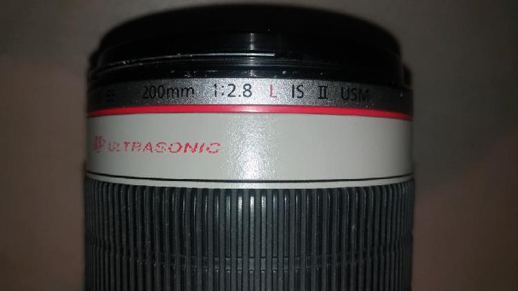 Teleobjetivo 70-200 mm. f:2,8 canon ef is ii usm.