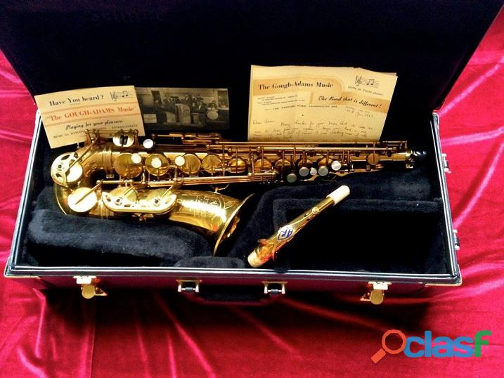 1957 Henri Selmer Mark VI Saxofón