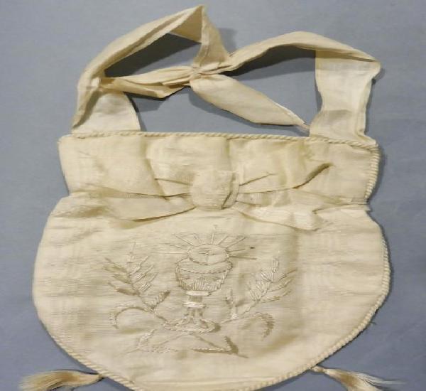 Antiguo bolso limosnero s.xix - ppio. s.xx