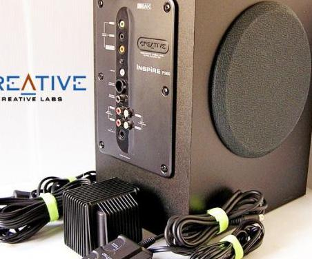 Altavoz subwoofer creative labs amplificado
