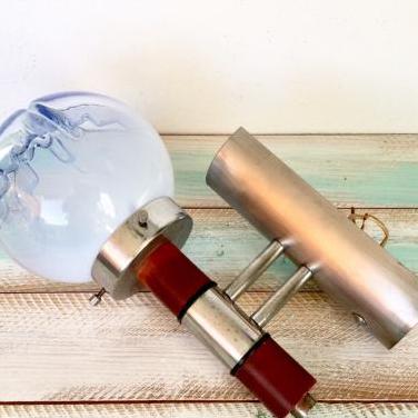 Aplique lámpara mazzega vintage