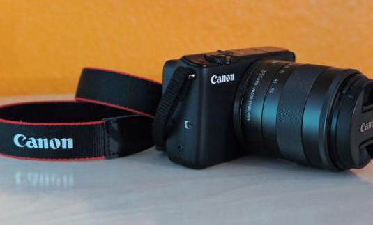 Canon eos m10 objetivo ef-m 18-55mm