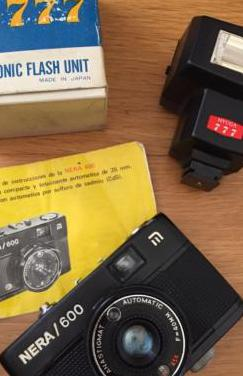 Cámara fotos nera 600 flash hyuga 777