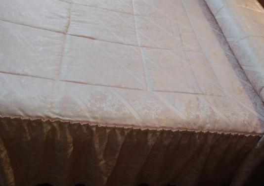Edredón y cortinas