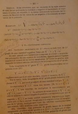 Elementos aritmética y álgebra 1891