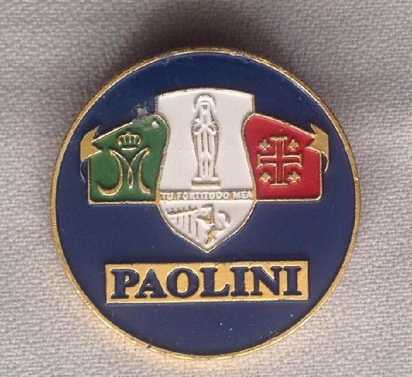 Insignia broche religiosa pelegrino paolini