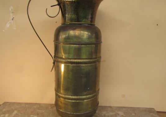 Jarrón antiguo florero 50 cms cobre