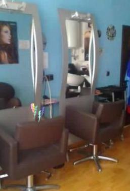 Mobiliario de peluquería seminuevo