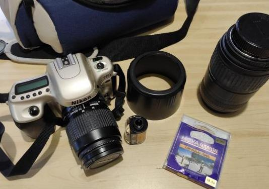 Nikon f50, objetivos y fundas - junto o separado