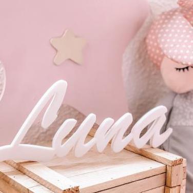 Nombre personalizado decoración infantil