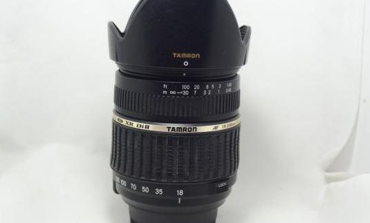 Objetivo Tamron 18-200mm XR DiII LD Nikon motor
