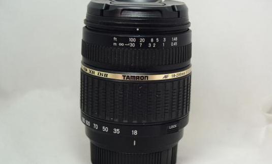 Objetivo Tamron AF 18-200mm IF Macro para Pentax