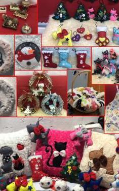 Cojines, cosas de navidad, temas de animales