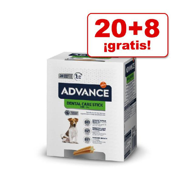 Advance dental snacks para perros en oferta: 20 + 8