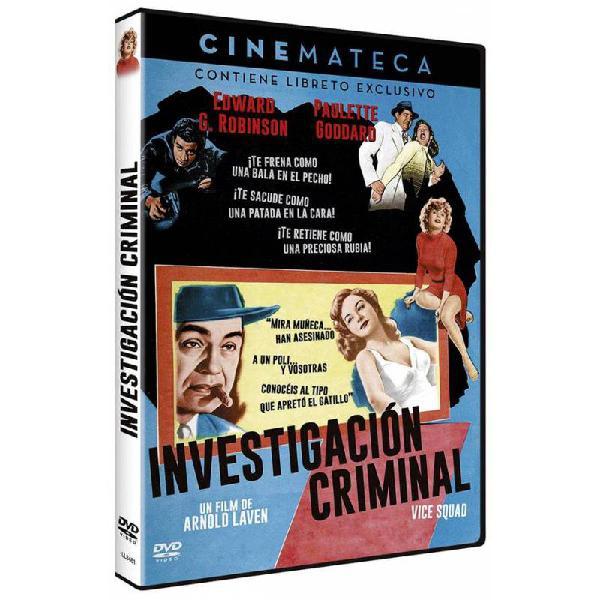 Investigación criminal (vice squad)